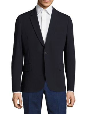 Paul Smith Soho Suit Jacket In Navy