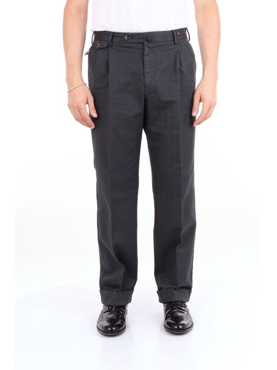 Pt01 Trouser Men Dark Gray In Grey