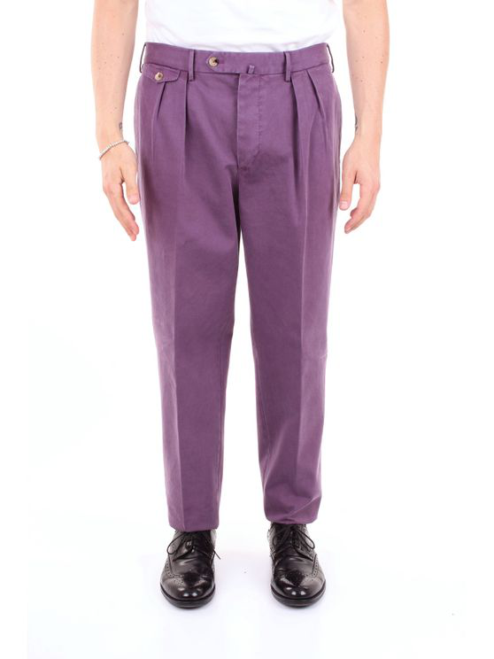 Pt01 Trouser Men Lilac In Pink