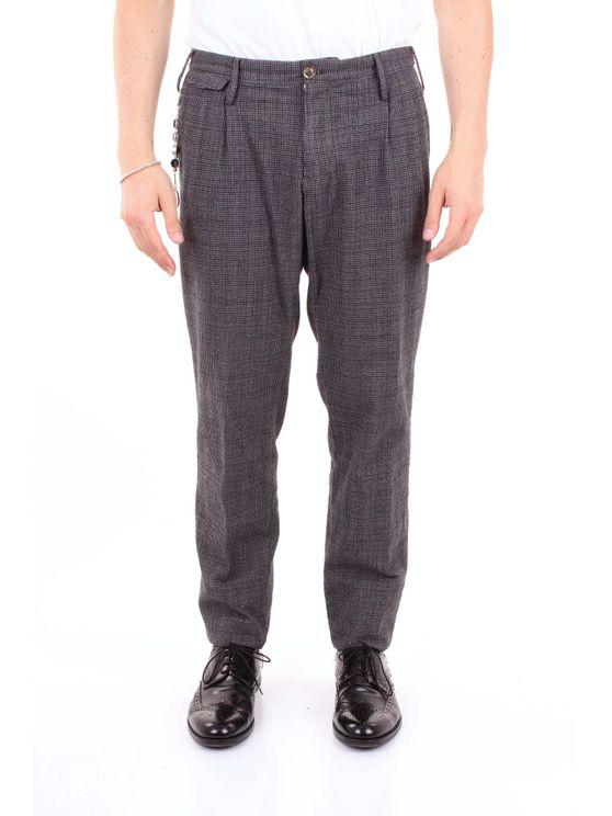 Pt01 Trouser Men Multicolor Gray In Grey