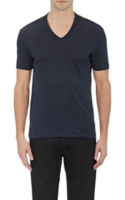John Varvatos Basic V-Neck T-Shirt - Dk. Blue