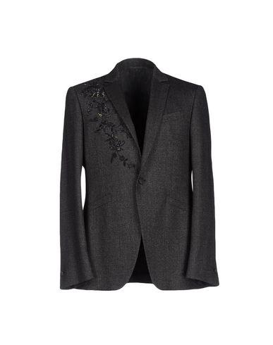 John Varvatos Sequin Embellished Single-Breasted Blazer In Black