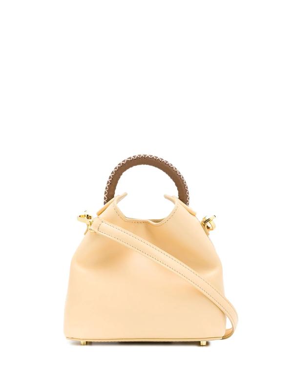 Elleme Madeline Bucket Bag In Neutrals