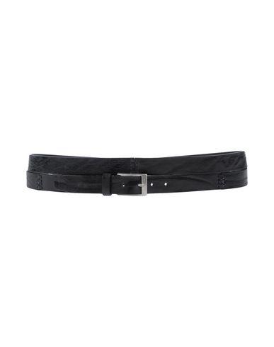 John Varvatos Leather Belt In Black