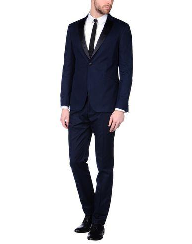 John Varvatos Suits In Dark Blue