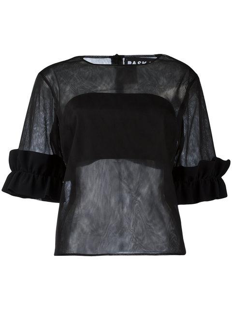 Paskal Sheer T-Shirt In Black