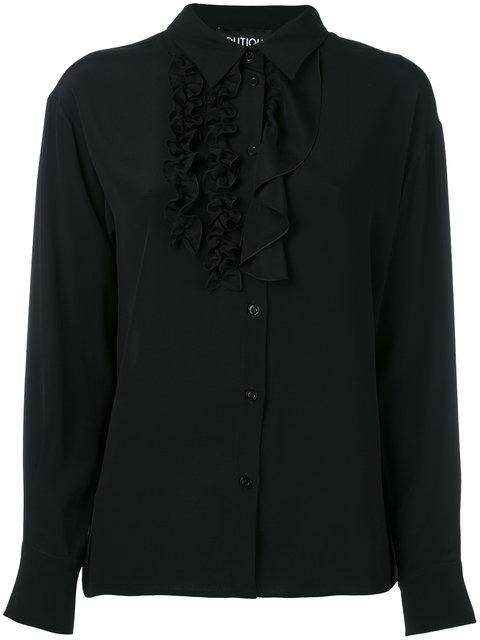 Boutique Moschino Ruffled Detail Shirt