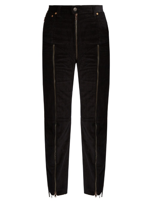 Vetements X Levi's Reworked Corduroy Trousers In Black