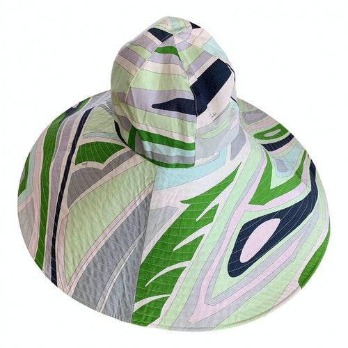 Pre-owned Emilio Pucci Multicolour Cotton Hat