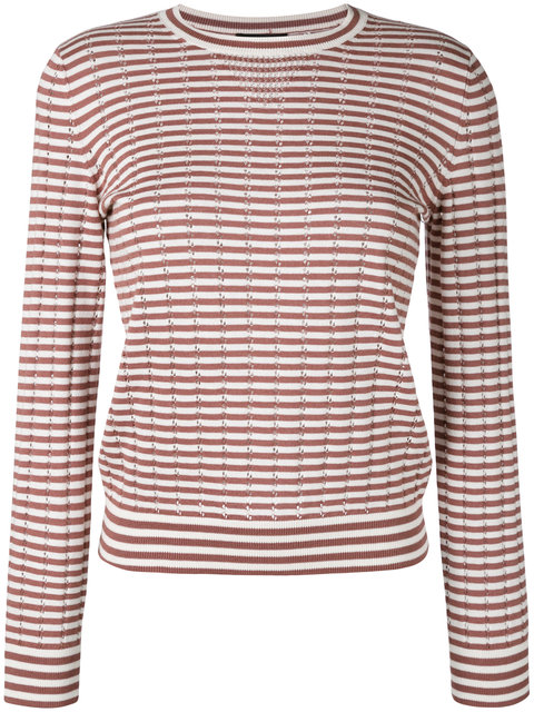 A.P.C. Annabelle Sweatshirt In Brown