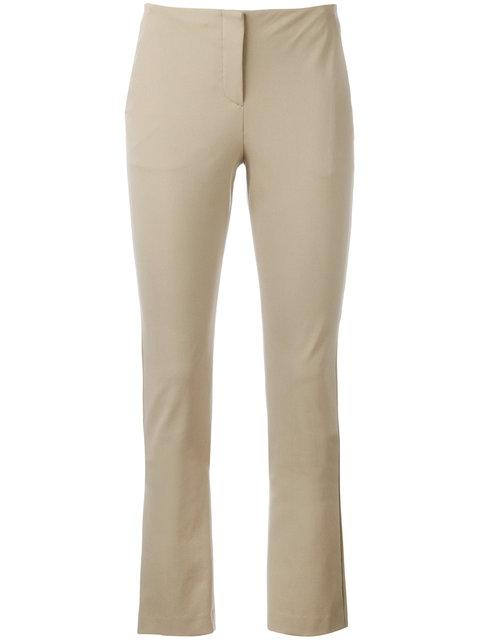 Theory Tennyson Skinny Trousers - Nude & Neutrals