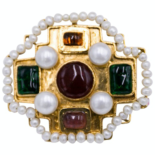 Pre-owned Chanel Baroque Multicolour Metal Pins & Brooches