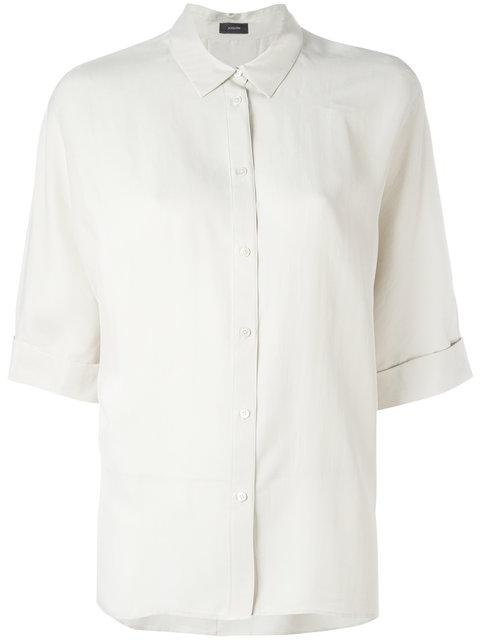 Joseph Plain Shirt - Neutrals
