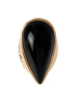 Diane Von Furstenberg Love Is Life Cocktail Ring In Black