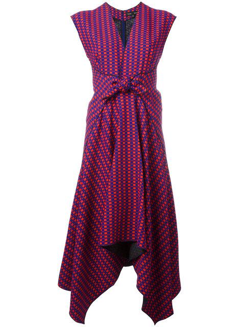 Proenza Schouler Trapeze Hem Midi Dress