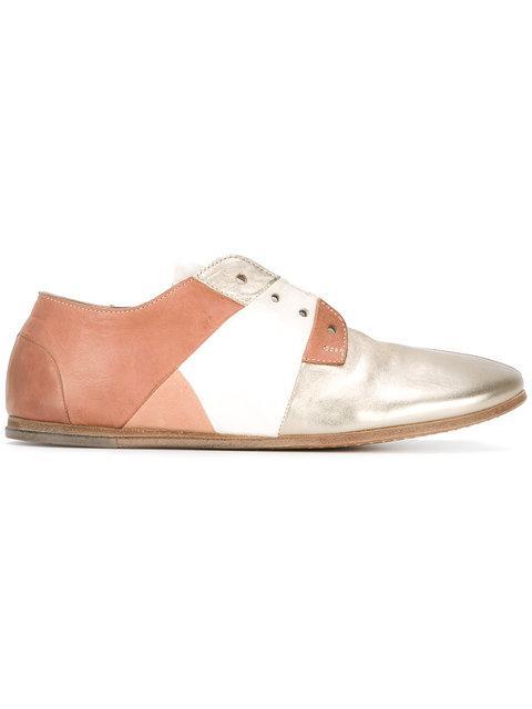 MarsÈLl Panelled Loafers - Metallic