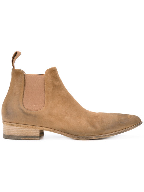 MarsÈLl Pointed Toe Chelsea Boots