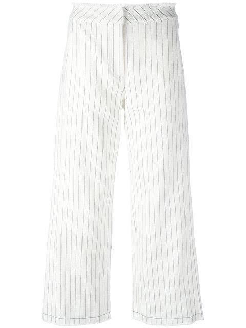 T By Alexander Wang Pinstripe Trousers