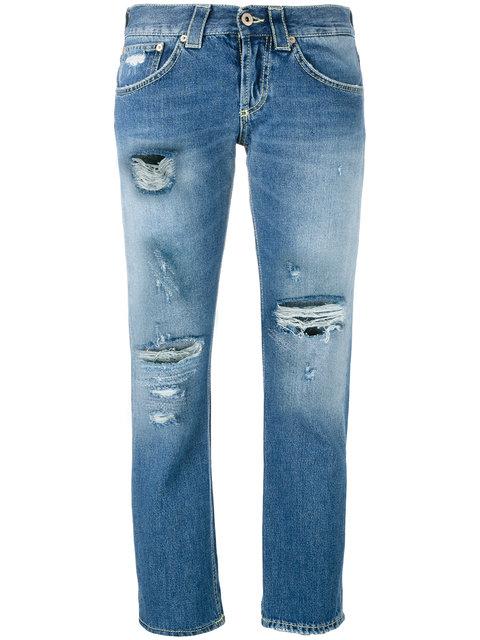 Dondup 'Segolene' Distressed Jeans - Blue