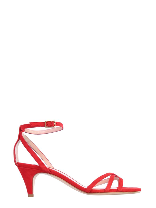 Philosophy Women's Red Leather Sandals