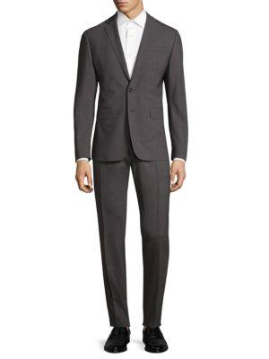 Dsquared2 Paris' Two-Piece Suit In Dark Grey