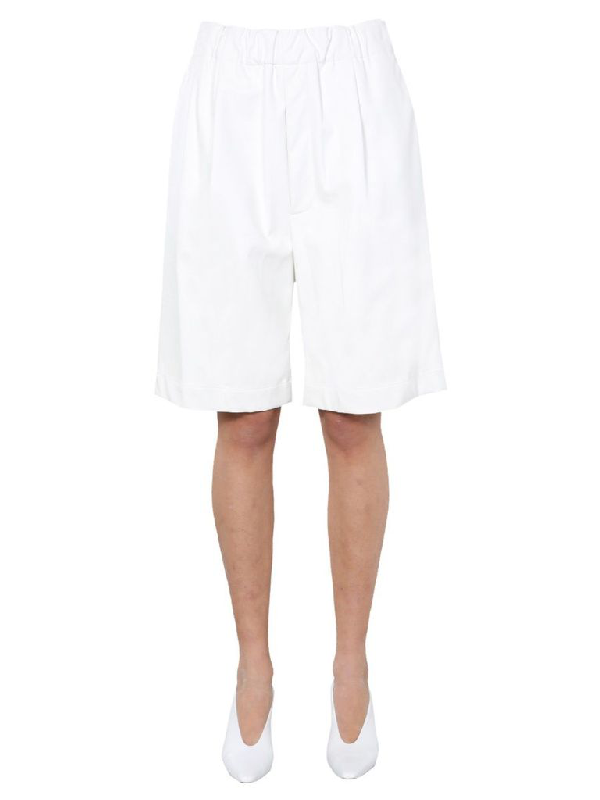 Jejia Bermuda Shorts In White