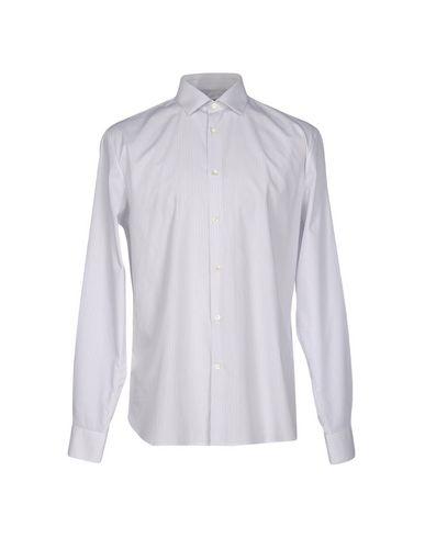 John Varvatos Striped Shirt In White