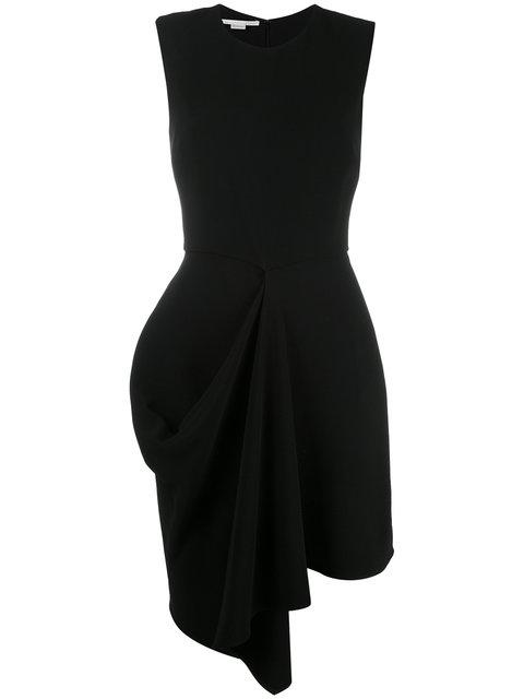 Stella Mccartney Cady Fitted Flare Dress