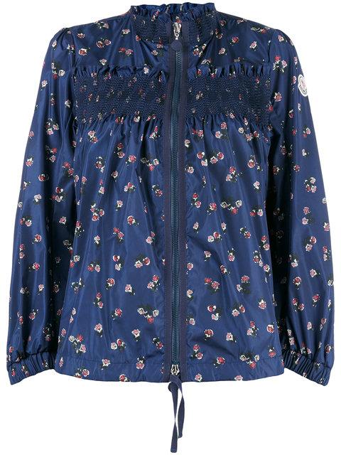 Moncler Printed Funnel Neck Jacket