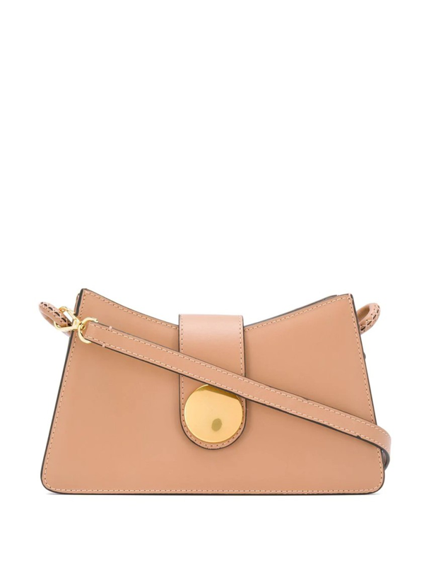 Elleme Baguette Shoulder Bag In Neutrals