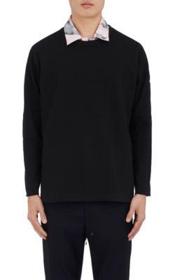 "Oamc ""Pandaemonium"" Cotton-Blend Sweatshirt In Black"