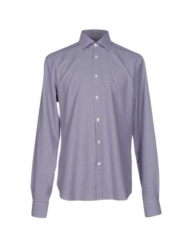 John Varvatos Checked Shirt In Dark Blue