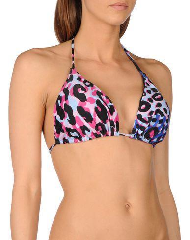 Versace Bikini Tops In Fuchsia