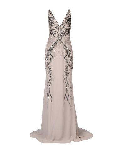 Roberto Cavalli Long Dresses In Beige