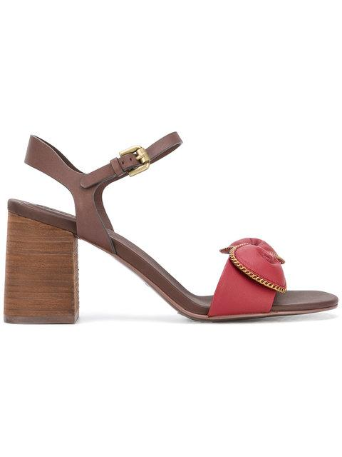 See By ChloÉ Chain-Embellished Sandals
