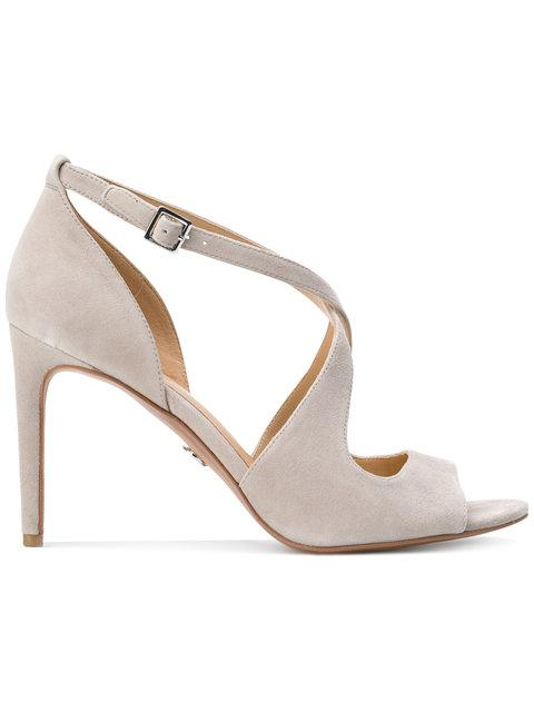 Michael Michael Kors Ankle Strap Sandals - Grey