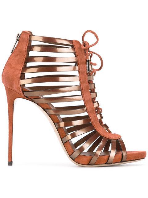 Le Silla Strappy Shoe Boots