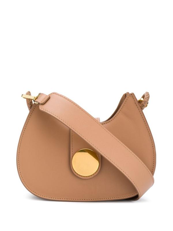 Elleme Tambour Shoulder Bag In Brown