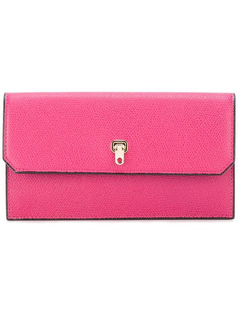 Valextra Continental Clasp Wallet