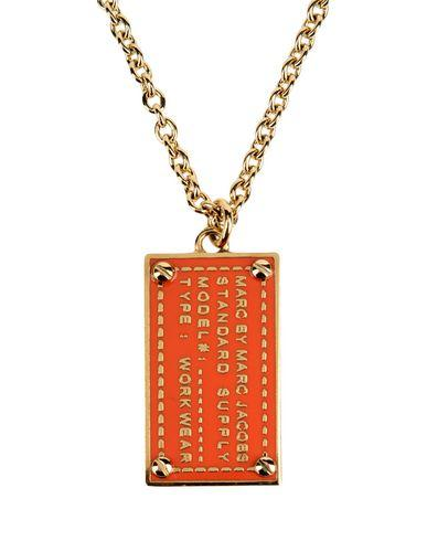 Marc By Marc Jacobs Necklaces In Orange