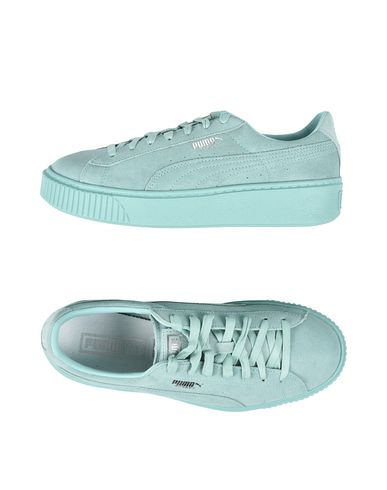 Puma Sneakers In Light Green