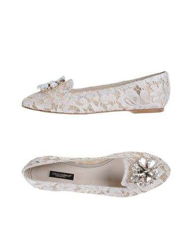 Dolce & Gabbana Loafers In Light Grey