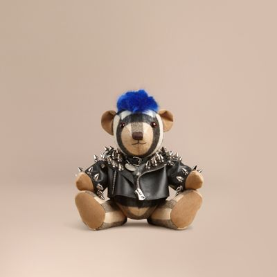 Burberry The Punk Thomas Bear In Camel