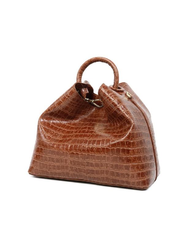 Elleme Brown Leather Handbag
