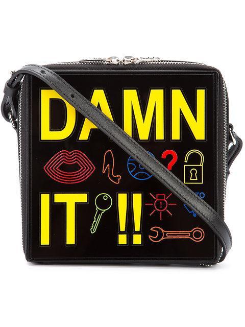 Yazbukey Damn It! Shoulder Bag