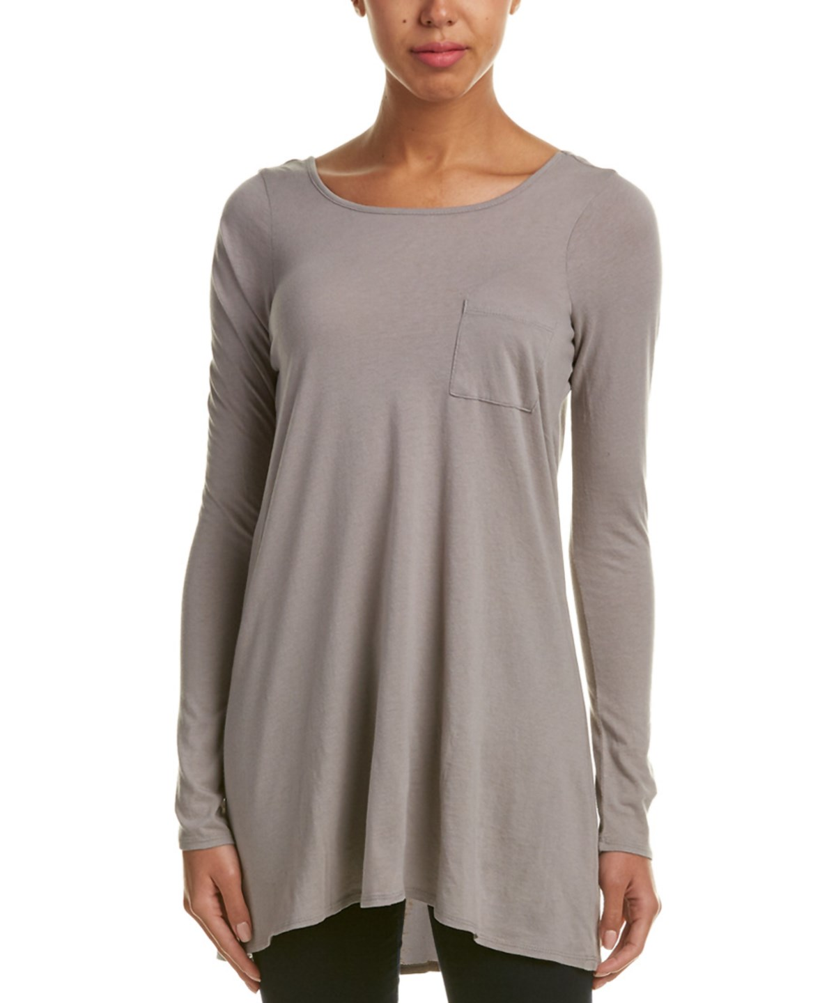 Chaser Swing Tunic In Grey