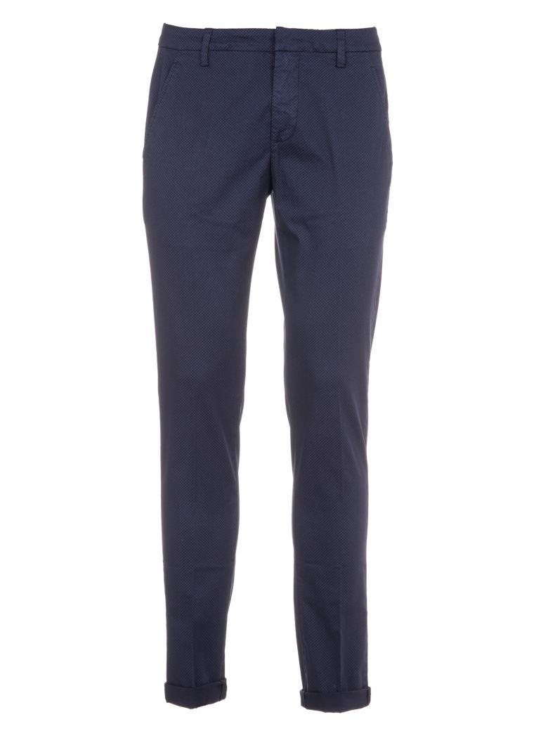 Dondup Classic Trousers In Navy