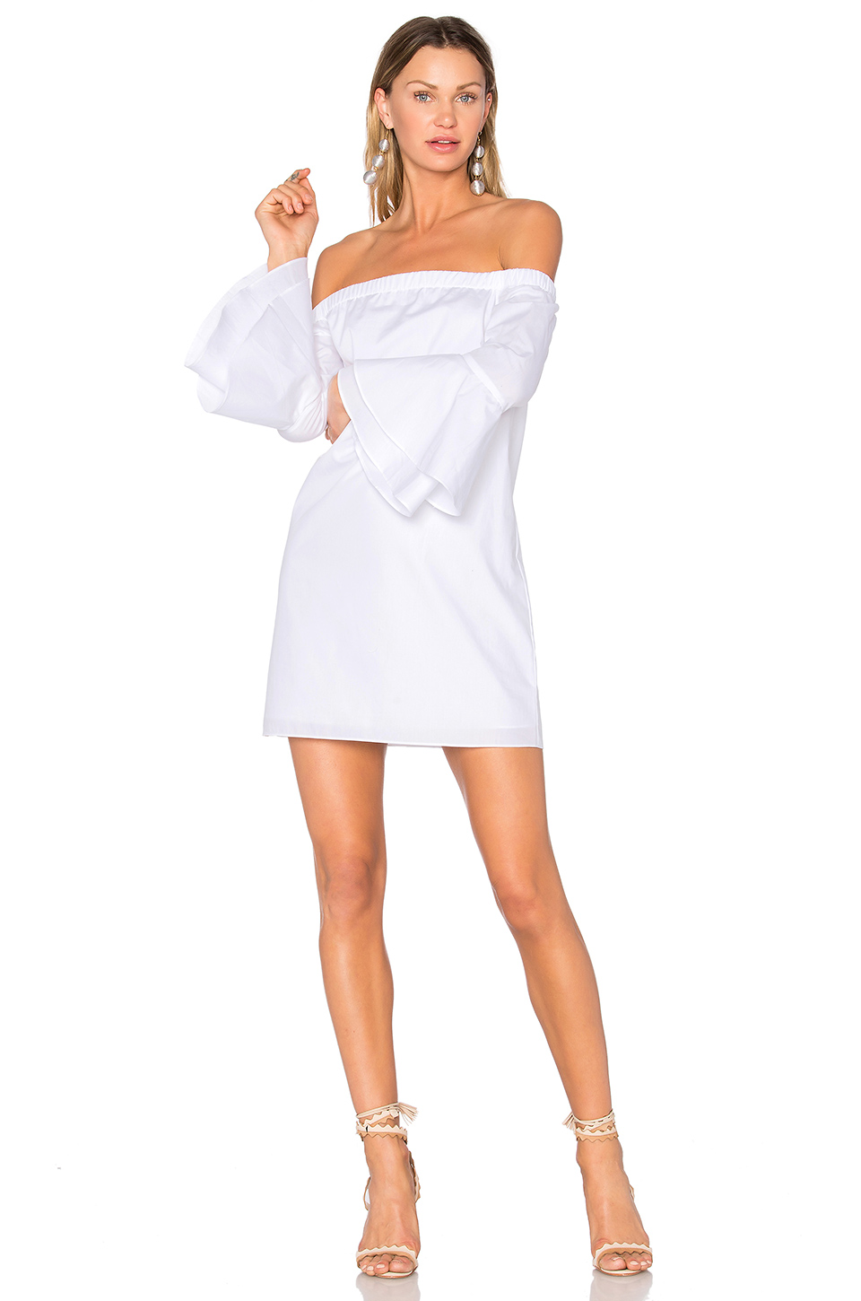 Amanda Uprichard Arabelle Dress In White