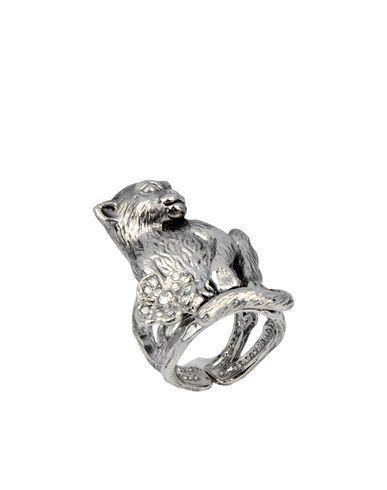 Roberto Cavalli Ring In Silver