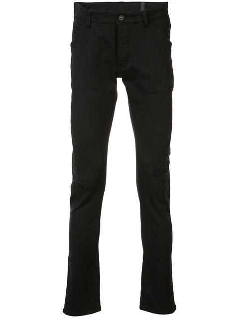 Attachment Skinny Trousers - Black